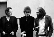 McClure, Dylan, & Ginsberg, North Beach, 1965